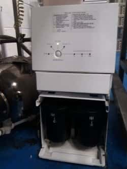 Dometic RO600c reverse osmosis machine being serviced