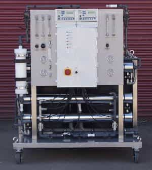 Double Pass Reverse osmosis system with Degas membrane