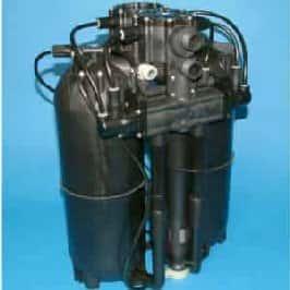 Harvey's Dualflo internal view of water softener