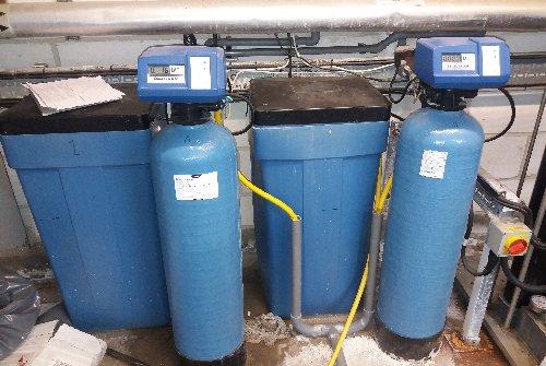 Duplex water softening system