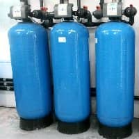 Pallas Iron removal water treatment system with Clack WS2 valves
