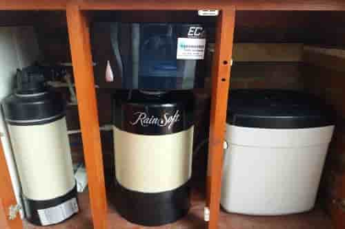 Rainsoft EC4 water softener and whole house purification system service